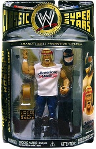 WWE Classic Superstars Exclusive Action Figure Hulk Hogan American Made & Masked Hulk Machine Gear [1 of 100]