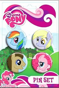 My Little Pony 4-Pack Pin Set  Ponies