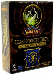 World of Warcraft Trading Card Game Class Starter Deck ALLIANCE Rogue