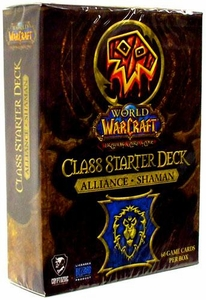 World of Warcraft Trading Card Game Class Starter Deck ALLIANCE Shaman