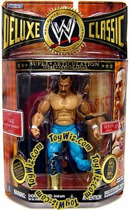 WWE Jakks Pacific Wrestling Exclusive Deluxe Classic Superstars Series 3 Action Figure Jake the Snake Roberts