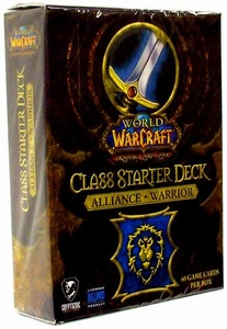World of Warcraft Trading Card Game Class Starter Deck ALLIANCE Warrior