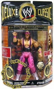 WWE Jakks Pacific Wrestling Exclusive Deluxe Classic Superstars Series 2 Action Figure Bret Hart