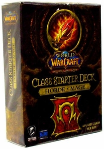 World of Warcraft Trading Card Game Class Starter Deck HORDE Mage