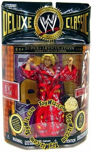 WWE Jakks Pacific Wrestling Deluxe Classic Superstars Series 1 Action Figure Ric Flair