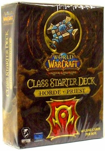 World of Warcraft Trading Card Game Class Starter Deck HORDE Priest