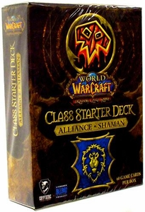 World of Warcraft Trading Card Game Class Starter Deck HORDE Shaman
