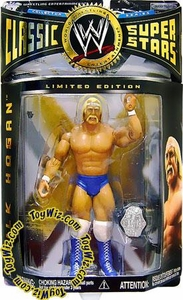 WWE Jakks Pacific Wrestling Classic Superstars Exclusive Action Figure Terry Boulder Hulk Hogan [Blue Tights & Blue Boots]