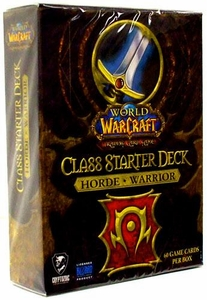 World of Warcraft Trading Card Game Class Starter Deck HORDE Warrior
