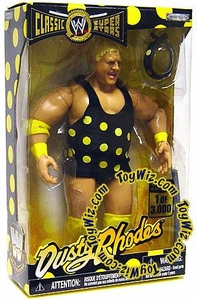WWE Jakks Pacific Wrestling Classic Superstars Exclusive Action Figure Polka Dot Dusty Rhodes