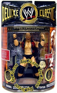 WWE Jakks Pacific Wrestling Deluxe Classic Superstars Series 1 Action Figure Stone Cold Steve Austin