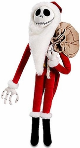 Disney Nightmare Before Christmas Exclusive 22 Inch Deluxe Plush Figure Santa Jack Skellington