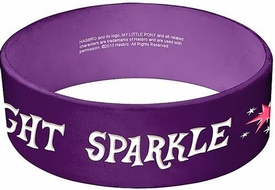 My Little Pony Rubber PVC Bracelet Twilight Sparkle