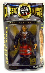 WWE Jakks Pacific Wrestling Classic Superstars Exclusive Action Figure Piper's Pit Rowdy Roddy Piper [1 of 3000]