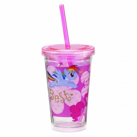 My Little Pony 12 oz. Acrylic Travel Cup New!