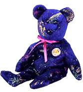Ty November 2003 Beanie Baby of the Month Comet the Bear