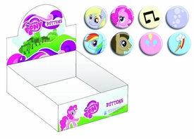 My Little Pony 96 Piece Button Assortment Pre-Order ships March