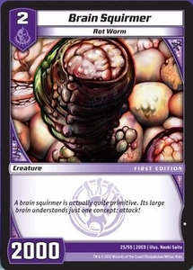 Kaijudo Dojo Edition Single Card Common #25 Brain Squirmer