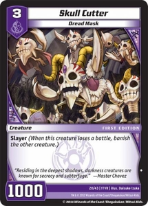 Kaijudo Dojo Edition Single Card Common #29 Skull Cutter