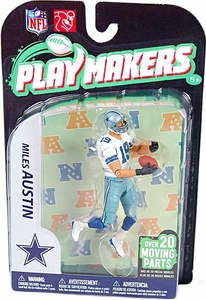 McFarlane Toys NFL Playmakers Series 2 Action Figure Miles Austin (Dallas Cowboys)