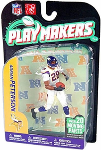 McFarlane Toys NFL Playmakers Series 2 Action Figure Adrian Peterson (Minnesota Vikings)