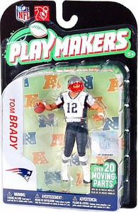 McFarlane Toys NFL Playmakers Series 2 Action Figure Tom Brady (New England Patriots)