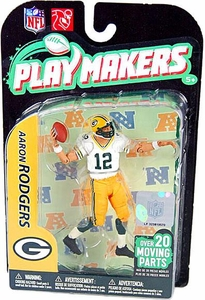 McFarlane Toys NFL Playmakers Series 2 Action Figure Aaron Rodgers (Green Bay Packers)