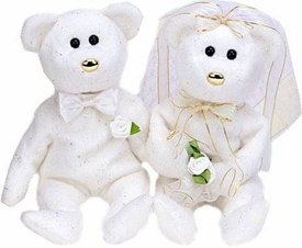 Ty Beanie Baby  Internet Exclusive His & Hers the Bears