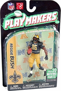 McFarlane Toys NFL Playmakers Series 2 Action Figure Reggie Bush (New Orleans Saints)