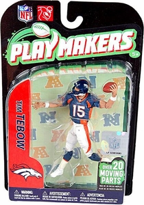 McFarlane Toys NFL Playmakers Series 2 Action Figure Tim Tebow (Denver Broncos)