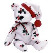 Ty Beanie Baby 1998 Holiday Teddy