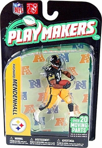 McFarlane Toys NFL Playmakers Series 2 Action Figure Rashard Mendenhall (Pittsburgh Steelers)