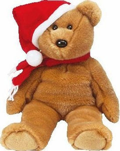 Ty Beanie Baby 1997 Holiday Teddy