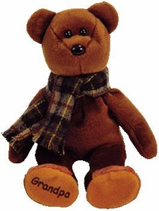 Ty Beanie Baby Store Exclusive Gramps the Bear