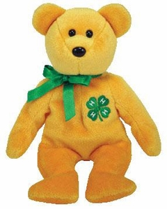 Ty Beanie Baby USA Exclusive 4-H the Bear