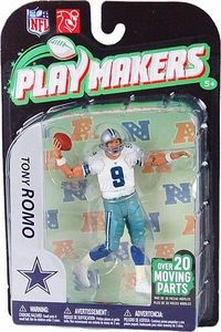 McFarlane Toys NFL Playmakers Series 2 EXTENDED EDITION Action Figure Tony Romo (Dallas Cowboys)