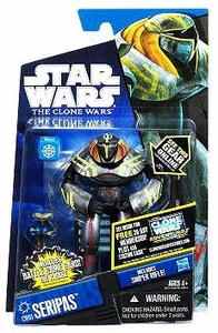 Star Wars 2011 Clone Wars Action Figure CW No. 61 Seripas