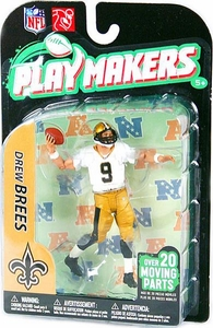 McFarlane Toys NFL Playmakers Series 2 EXTENDED EDITION Action Figure Drew Brees (New Orleans Saints)