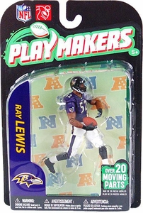 McFarlane Toys NFL Playmakers Series 2 EXTENDED EDITION Action Figure Ray Lewis (Baltimore Ravens)