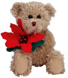Ty Beanie Baby 2005 Holiday Teddy