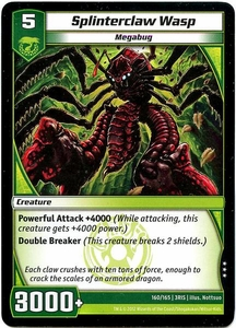 Kaijudo Dojo Edition Single Card Rare #53 Splinterclaw Wasp