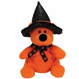Ty Borders & Walden Books Exclusive Halloween Beanie Baby Haunts the Bear