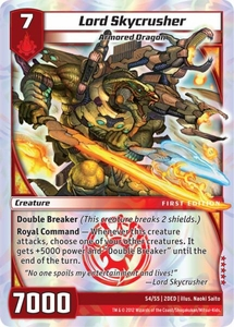 Kaijudo Dojo Edition Single Card Super Rare #S4 Lord Skycrusher