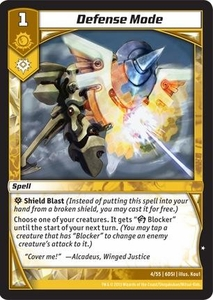 Kaijudo DragonStrike Infernus Single Card Common #4 Defense Mode