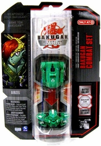 Bakugan Gundalian Invaders Exclusive Combat Set 2-Pack Airzel [Warm Green]