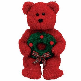 Ty Christmas Beanie Baby 2006 Holiday Teddy the Bear