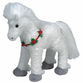 Ty Christmas Beanie Baby Hollyhorse the Horse