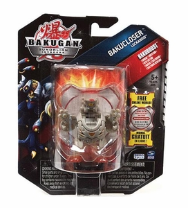 Bakugan Bakucloser Single Figure Luminoz [Grey] Lockanoid