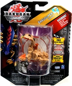 Bakugan Bakusuper G Single Figure Sub Terra [Brown] Damakor 1000 G POWERFUL!