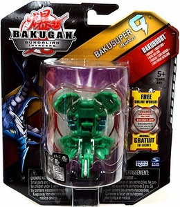 Bakugan Bakusuper G Single Figure Zephyroz [Green] Megarus 1100 G MEGA POWERFUL!